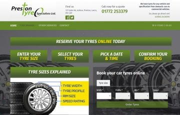 Preston Tyres